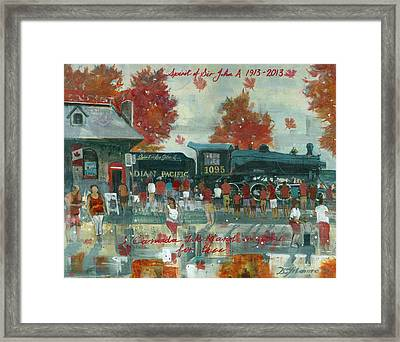 Canada Day 2013 Framed Print by David Gilmore