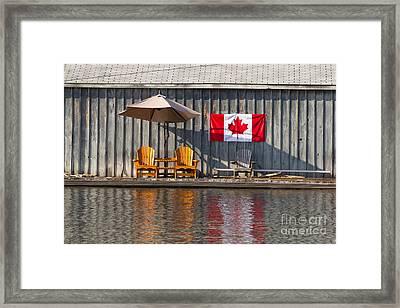 Canada Day In Muskoka Framed Print