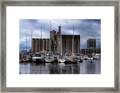 Canada Malting Silos Harbourfront Framed Print