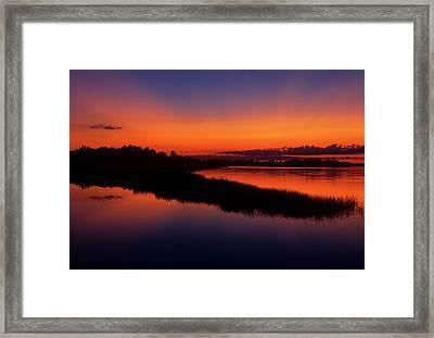 Canada, Manitoba, Grand Marais Framed Print by Jaynes Gallery