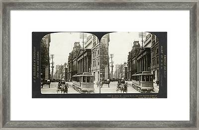 Canada Montreal, 1908 Framed Print by Granger