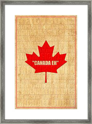 Canada Music 1 Framed Print by Andrew Fare