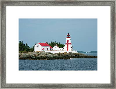 Canada, New Brunswick, Bay Of Fundy Framed Print by Cindy Miller Hopkins