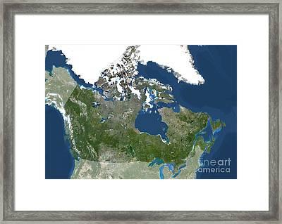 Canada, North America Framed Print