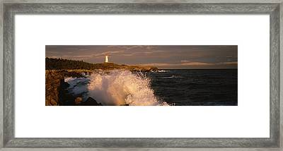 Canada, Nova Scotia, Cape Breton Framed Print by Panoramic Images