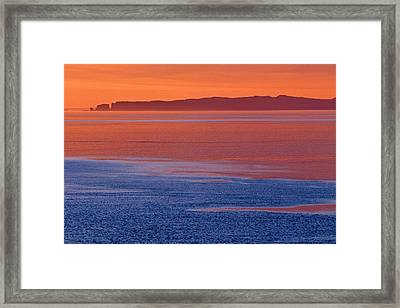 Canada, Nova Scotia, Cape D'or Framed Print