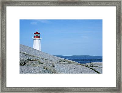Canada, Nova Scotia, Early Morning Framed Print