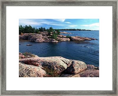 Canada, Ontario, Georgian Bay Framed Print by Jaynes Gallery