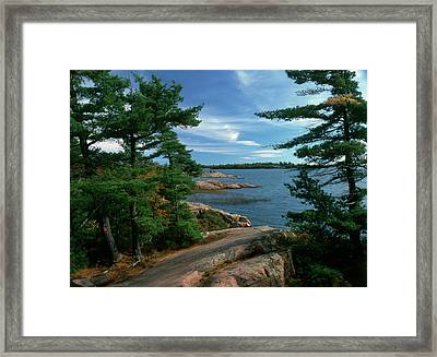 Canada, Ontario, Shield Country Framed Print