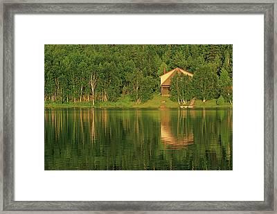 Canada, Ontario, Sudbury Framed Print