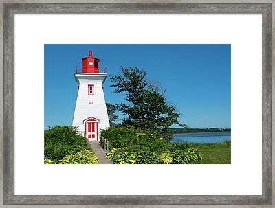 Canada, Prince Edward Island, Victoria Framed Print by Bill Bachmann