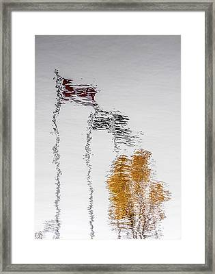 Framed Print featuring the photograph Canada - Quebec - Autumn by Arkady Kunysz