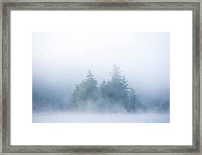 Canada, Quebec, Lake Long Pond Framed Print by Jaynes Gallery