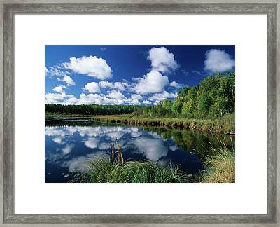 Canada, Saskatchewan, Wet Area Framed Print