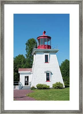 Canada, St Martins, New Brunswick Framed Print by Bill Bachmann