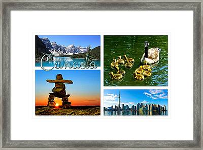 Canada Framed Print by The Creative Minds Art and Photography