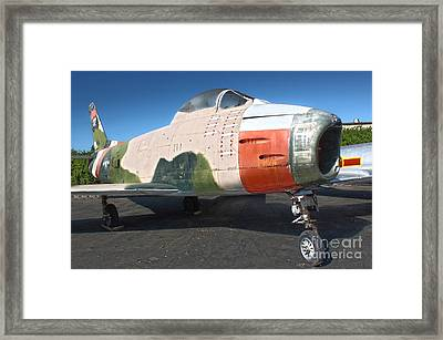 Canadair Sabre Qf-86h Framed Print by Gregory Dyer