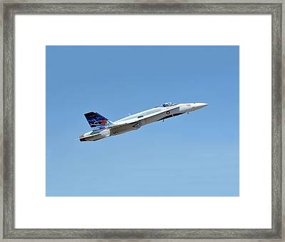 Framed Print featuring the photograph Canadian Cf18 by Jim Poulos