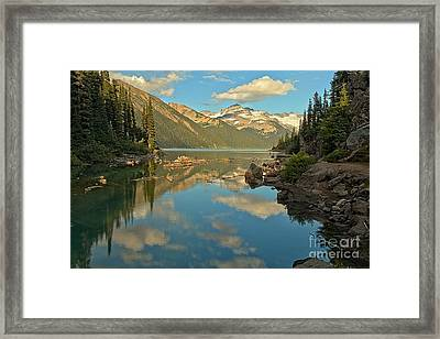 Canadian Coastal Mountain Reflections Framed Print by Adam Jewell