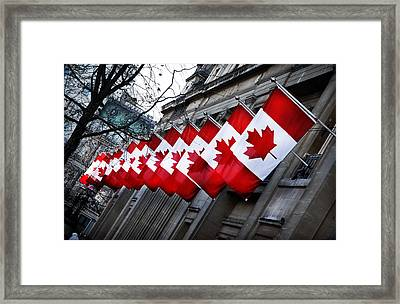 Canadian Embassy London Framed Print by Mark Rogan