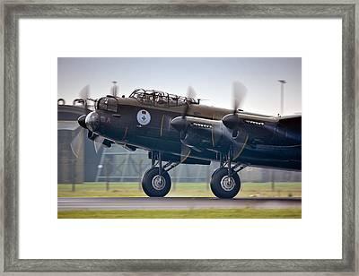 Canadian Lancaster Bomber Framed Print