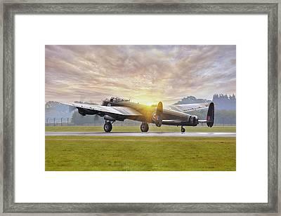 Canadian Lancaster Vera Framed Print
