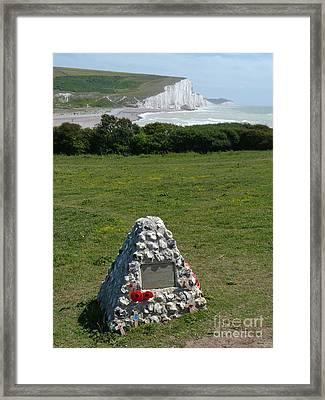 Canadian Memorial - Cuckmere Framed Print by Phil Banks
