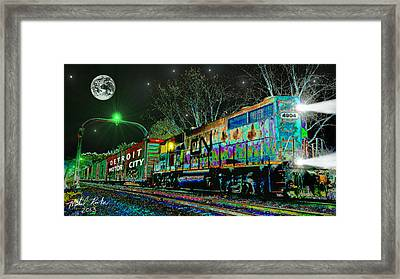 Canadian National Railroad Framed Print