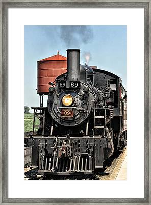 Canadian National Railway 89 Framed Print by Bill Cannon