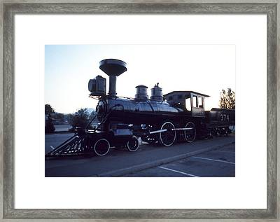 Canadian Pacific No 374 Framed Print