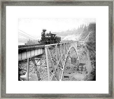 Canadian Pacific Railroad  1892 Framed Print