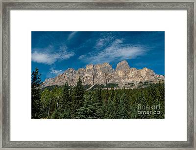 Canadian Rockies 2.0570 Framed Print by Stephen Parker