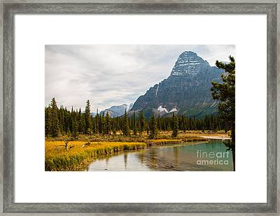 Canadian Rockies 2.0604 Framed Print by Stephen Parker