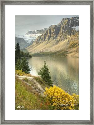 Canadian Scene Framed Print