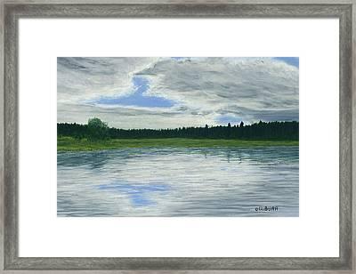 Canadian Serenity Framed Print