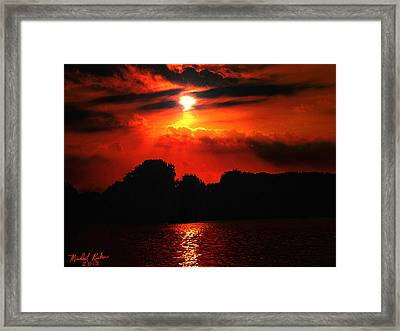 Canadian Sunrise Framed Print