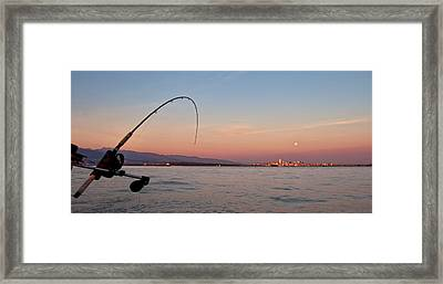 Canadian West Coast Fishing Framed Print by James Wheeler