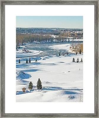 Canadian Winter Framed Print