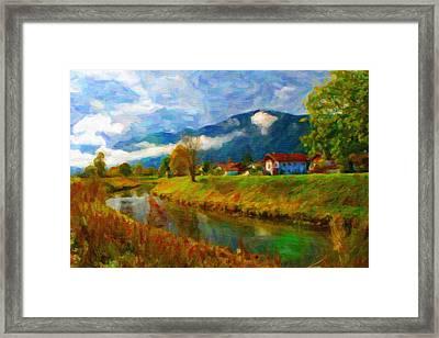 Canal 1 Framed Print