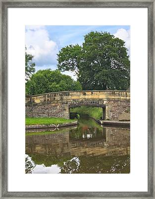 Canal Bridge Framed Print by Jane McIlroy
