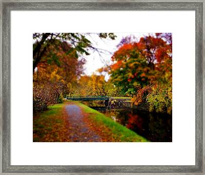 Canal Dream Framed Print by Rodney Lee Williams