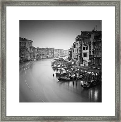 Canal Grande Study IIi Framed Print by Nina Papiorek