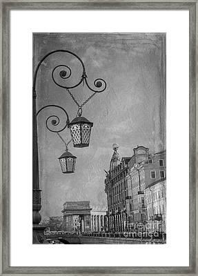 Canal Griboedova Framed Print