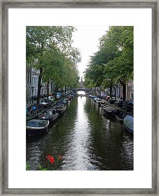 Canal Of Mystery Framed Print by Mike Podhorzer