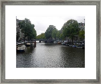 Canal Of Serenity Framed Print