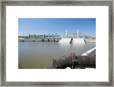 Canal Pumping Station Framed Print