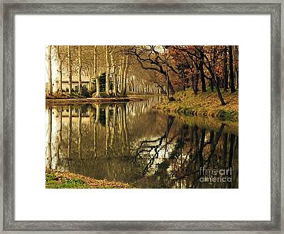 Canal Reflections Framed Print by France  Art