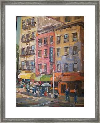 Canal Street Framed Print