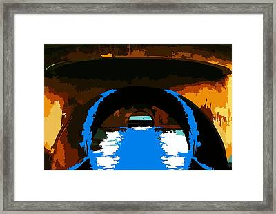 Canal Zone  Framed Print