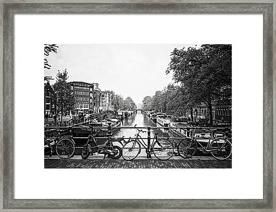 Canals Framed Print by Ryan Wyckoff
